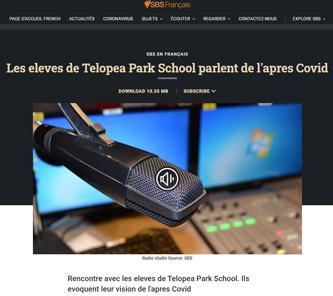 Les élèves de Telopea sur Radio SBS!